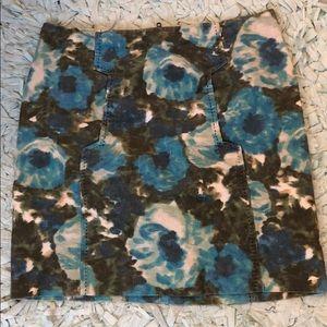 Awesome corduroy anthropologie mini skirt